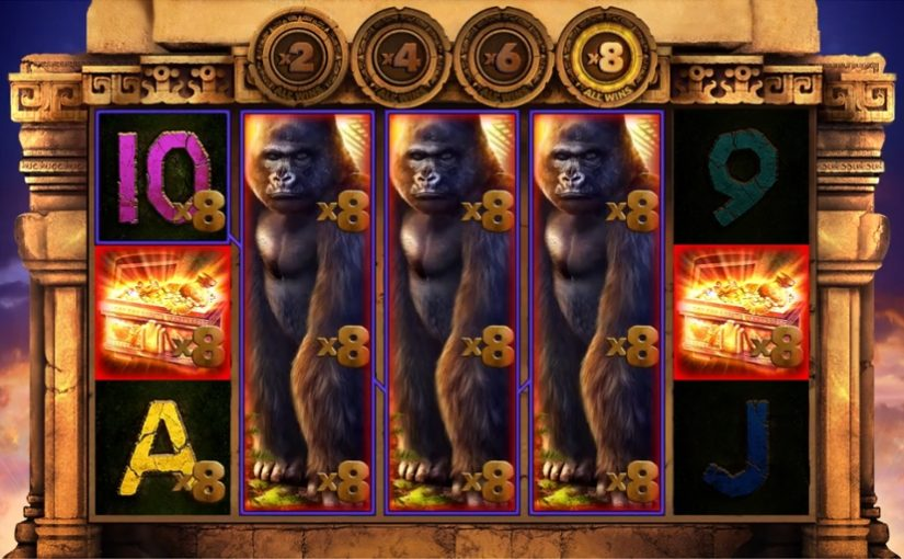 Slot Kong's Temple from Blueprint Gaming & Reel Time Gaming